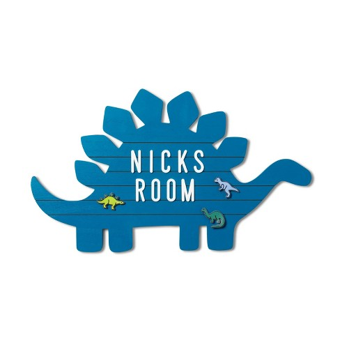 Dino Routed Letterboard - Pillowfort™ - image 1 of 3