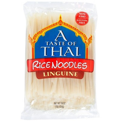 A Taste of Thai Gluten Free Straight Cut Rice Noodles - 16oz