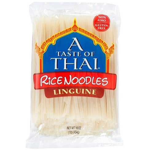 A Taste Of Thai Straight Cut Rice Noodles 16oz Target