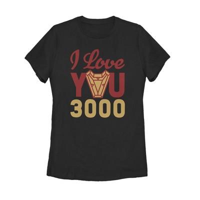Women's Marvel Iron Man Arc Heart 3000 T-Shirt