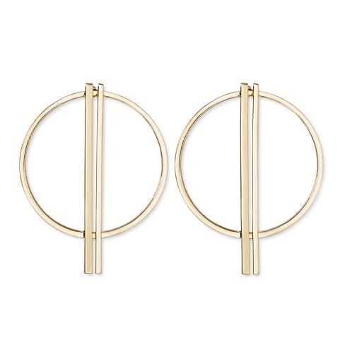 Sugarfix By Baublebar Hoop Earrings Gold