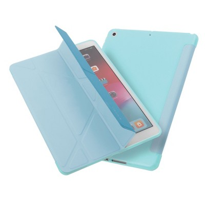 "Insten - Tablet Case for iPad Pro 10.2"" 2019 & 2020, Gen 7 & 8, Multifold Stand, Magnetic Cover Auto Sleep/Wake, Pencil Charging, Sky Blue"