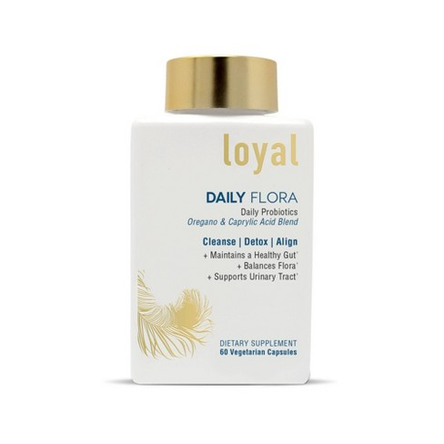 Loyal Daily Flora Probiotic Oregano & Caprylic Acid Blend - 60ct - image 1 of 4