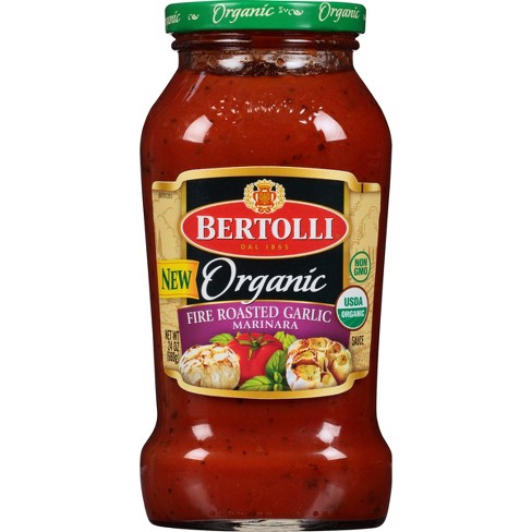 Bertolli Organic Fire Roasted Garlic Marinara Pasta Sauce - 24oz - image 1 of 4