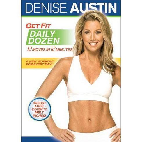 Denise Austin: Get Fit Daily Dozen (DVD) - image 1 of 1