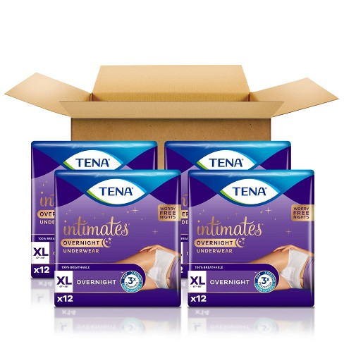 TENA Incontinence Underwear - Overnight - XL - 48ct - image 1 of 4