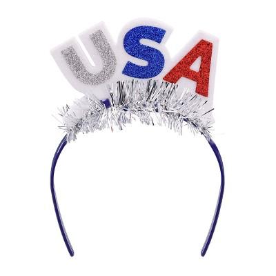 Parade Headband USA Red White Blue - Sun Squad™