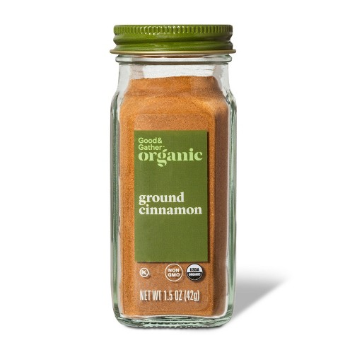 Organic Ground Cinnamon - 1.5oz - Good & Gather™ - image 1 of 2