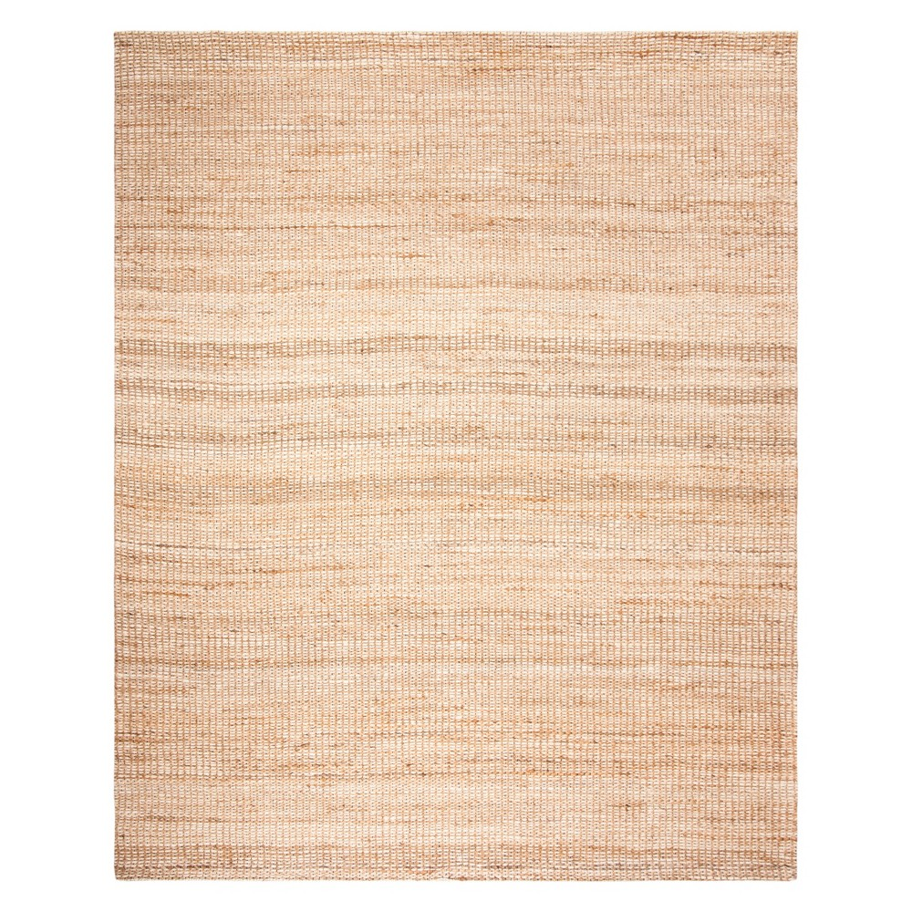 8'X10' Solid Area Rug Natural/Ivory - Safavieh
