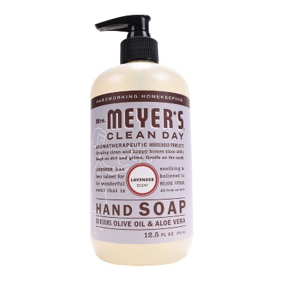 Mrs. Meyer's Lavender Scented Liquid Hand Soap - 12.5 fl oz