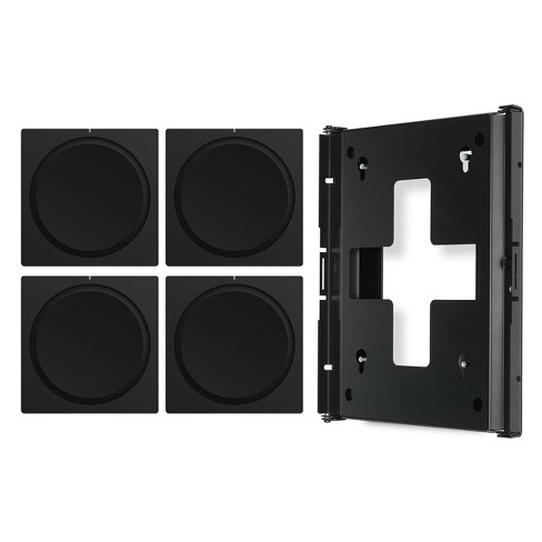 Sonos AMP Wireless Hi-Fi Players (4) with Flexson Wall Mount (Black) - image 1 of 12