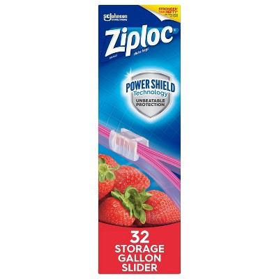 Ziploc Storage Slider Gallon Bags