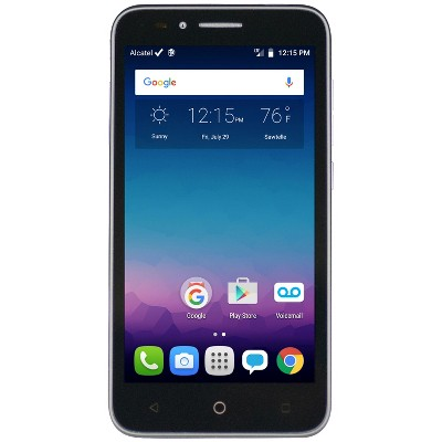 FreedomPop Alcatel OneTouch Conquest 4G LTE/3G 8GB – Black – Target