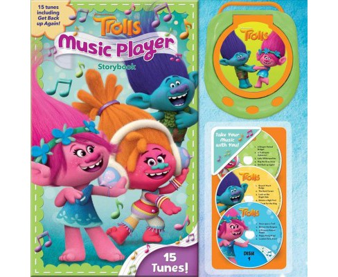 Dreamworks Trolls Music Player Storybook -  (Music Player Storybook) (Hardcover) - image 1 of 1