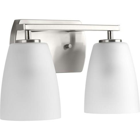 Progress Lighting P300132 Leap 2 Light 13 7 8 Wide Bathroom Vanity