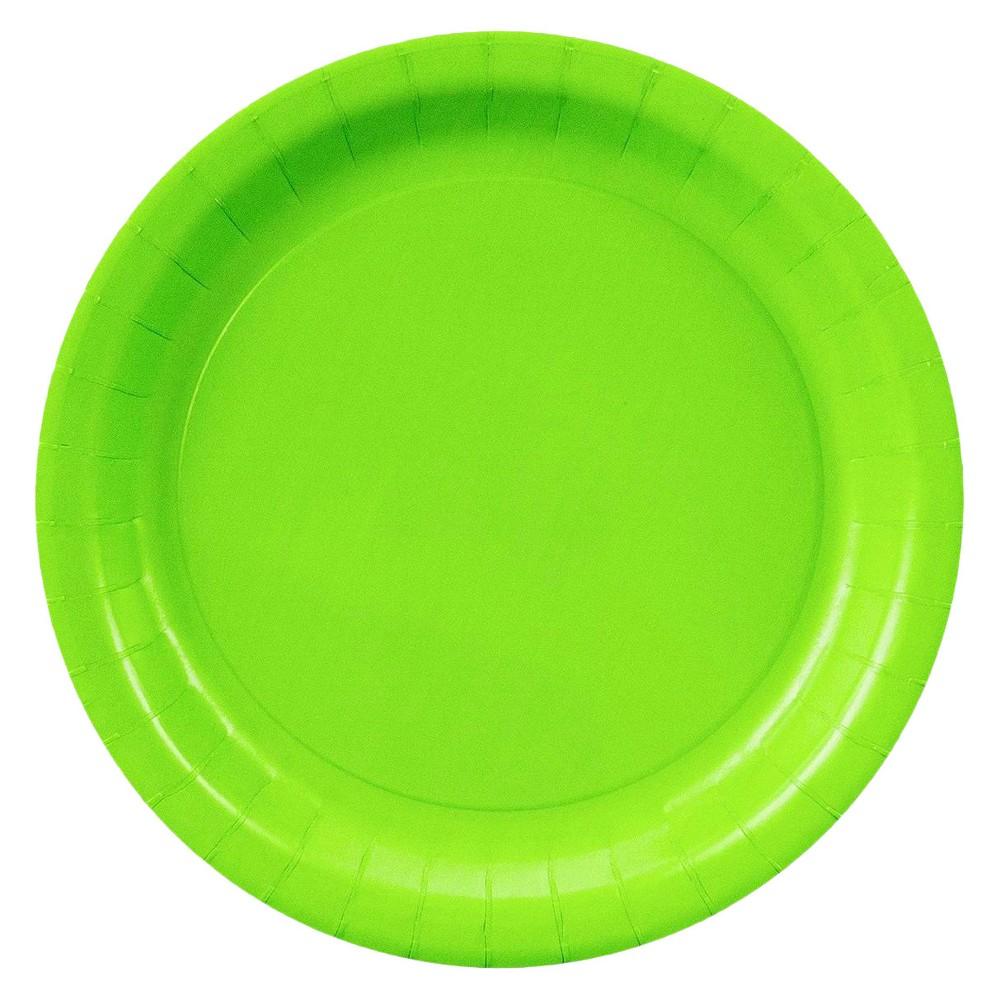 48ct Dessert Plate - Green