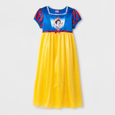 Girls' Disney Princess Snow White Nightgown - Blue 4
