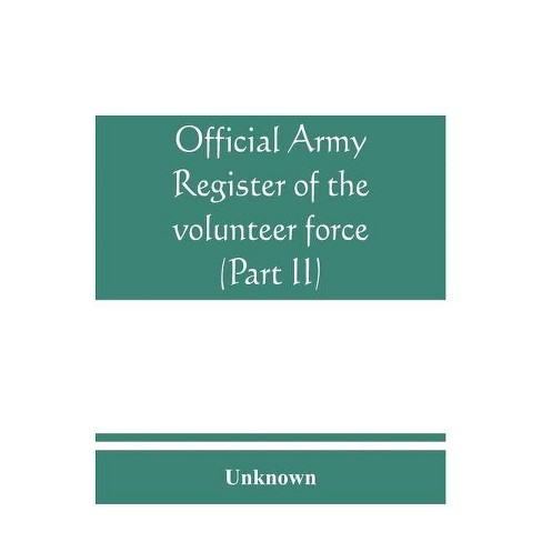 Official army register of the volunteer force of the United States army for the years 1861, '62, '63, - image 1 of 1