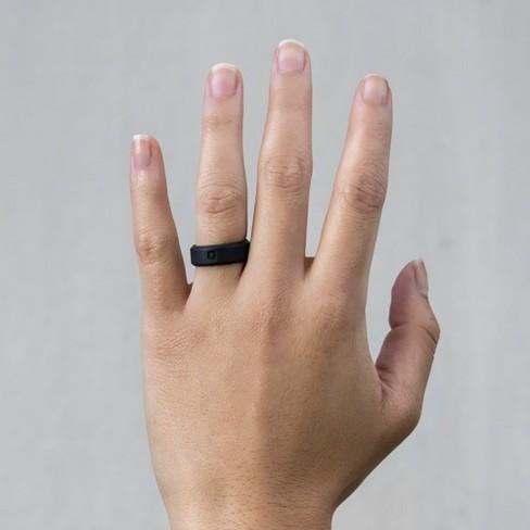 Qalo Standard Women S Modern Silicone Ring Target