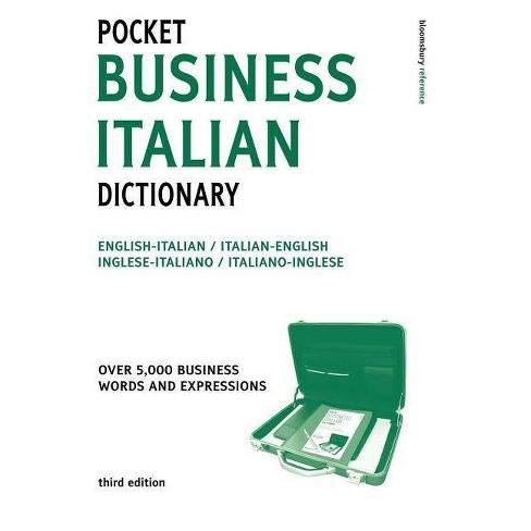 Pocket Business Italian Dictionary 3ed - (Paperback) - image 1 of 1