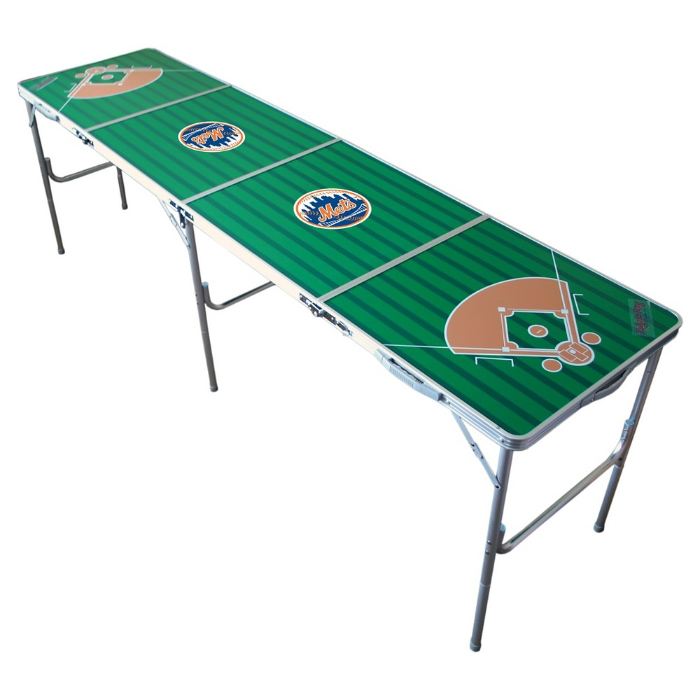 New York Mets Wild Sports Tailgate Table - 2'x8'