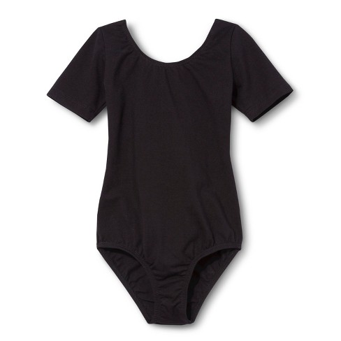 Danz N Motion&#174 by Danshuz&#174 Girls' Leotard -  Black 4-6 - image 1 of 1