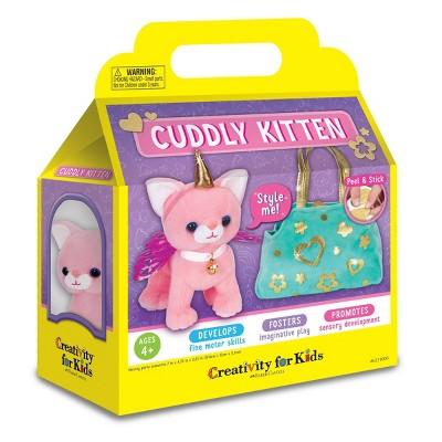 Creativity for Kids Cuddly Kitten