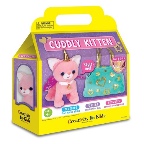 Creativity for Kids Cuddly Kitten - image 1 of 4