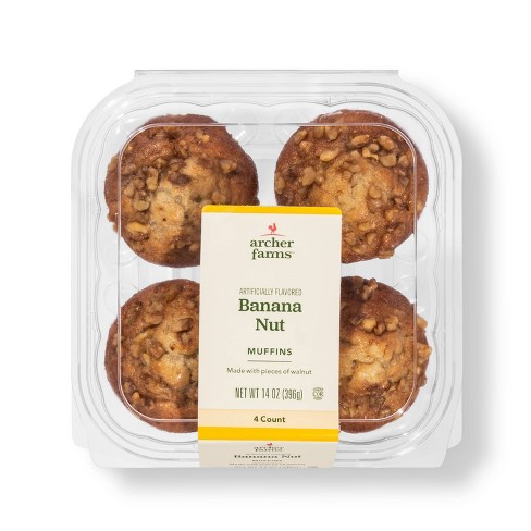 Banana Nut Muffins - 4ct - Archer Farms™ - image 1 of 1