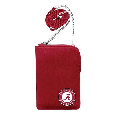 NCAA Alabama Crimson Tide Pebble Smart Purse
