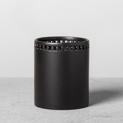 Stoneware Pencil Cup - Black - Hearth & Hand™ with Magnolia