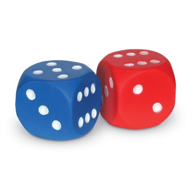 Learning Resources Soft Foam Dice