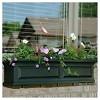 4ft Nantucket Rectangular Window Box Green - Mayne - image 2 of 2