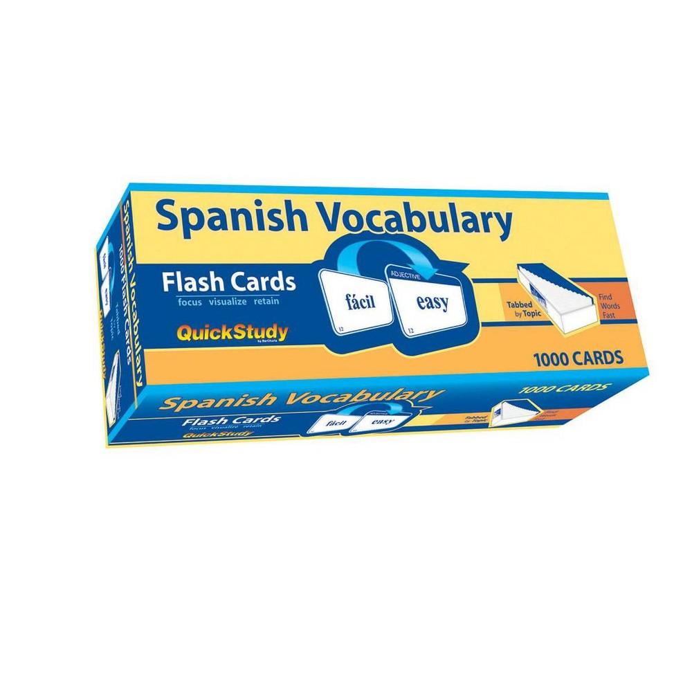 Spanish Vocabulary By Liliane Arnet Poster