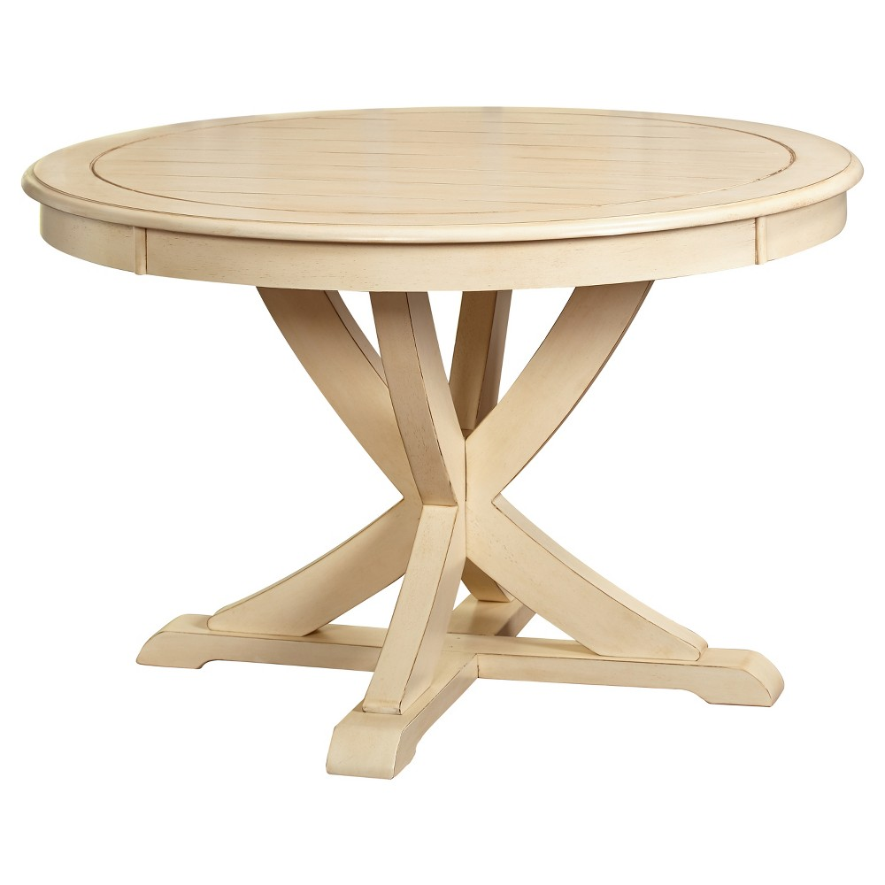 Vintner Dining Table - Antique White - Target Marketing Systems