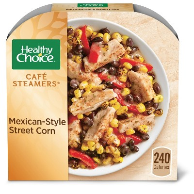 Healthy Choice Café Steamers Frozen Mexican-Style Street Corn - 9.25oz