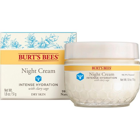 Burt's Bees Intense Hydration Night Cream - 1.8 oz - image 1 of 9