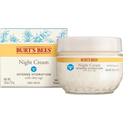 Burt's Bees Intense Hydration Night Cream - 1.8oz - image 1 of 4