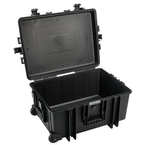 B&W International 6800/B/RPD 70.9 L Plastic Outdoor Case w/ Wheels & RPD Insert - image 1 of 4