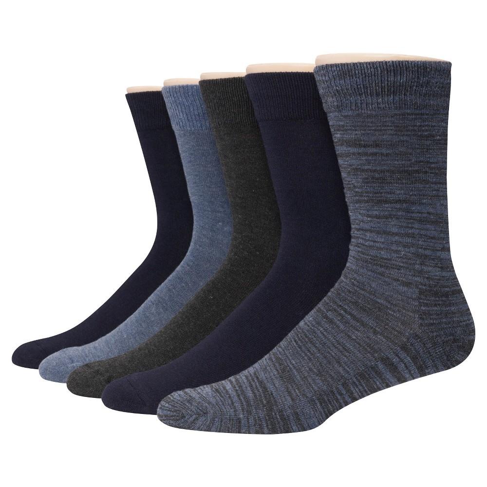 Hanes Premium Men's 5pk Dress Socks - Colors May Vary 6-12, Multi-Colored