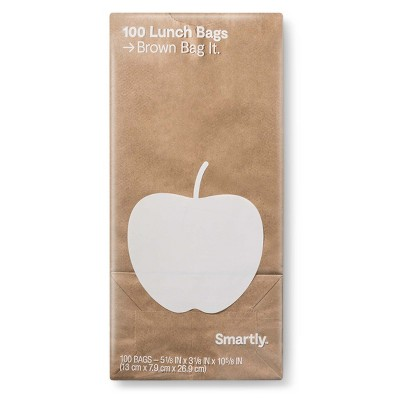 Lunch Storage Bags - 100ct - Smartly™