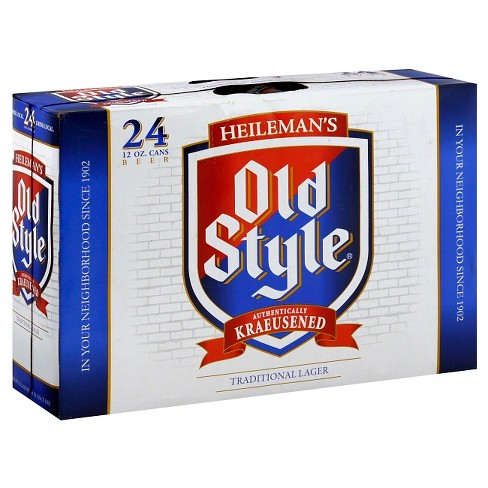Heileman's® Old Style Beer - 24pk / 12oz Cans - image 1 of 1