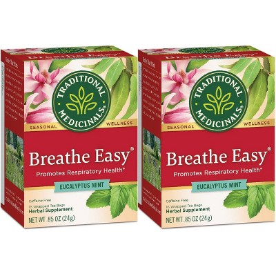Traditional Medicinals Breathe Easy Tea Bags
