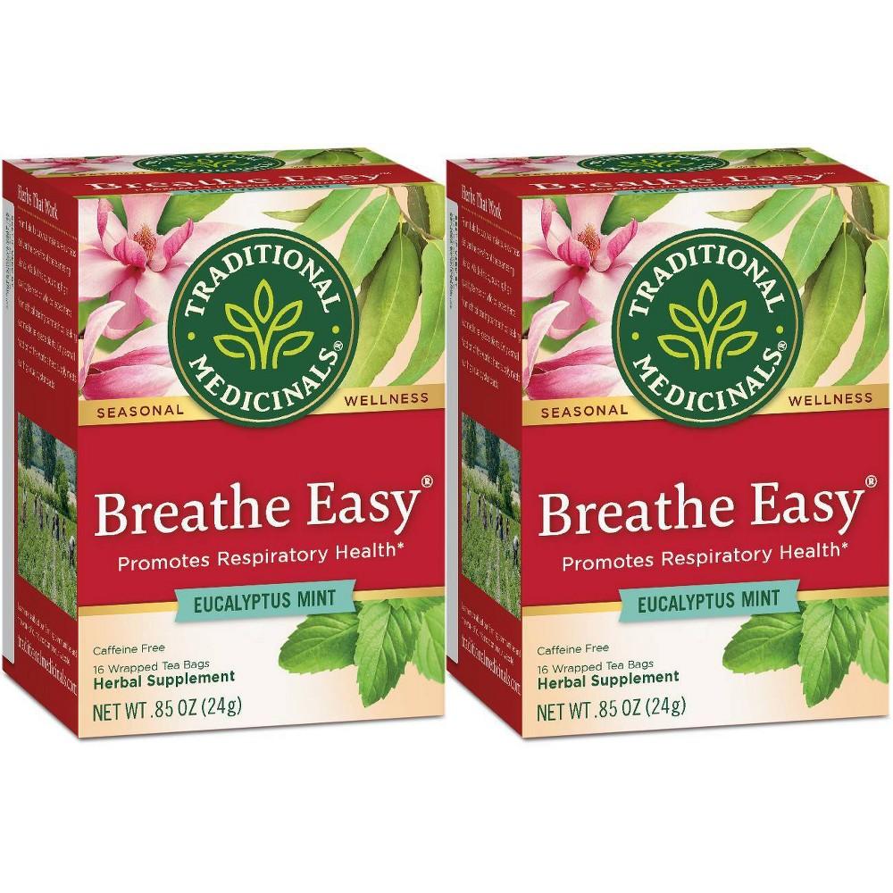 Traditional Medicinals Breathe Easy Organic Tea 32ct