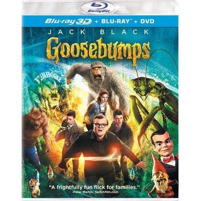 Goosebumps 3D (3 Discs) - Blu-ray/DVD/UltraViolet Combo Pack