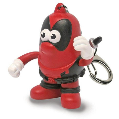 """Promotional Partners Worldwide, LLC Marvel 2"""" PopTater Character Keychain: Deadpool - image 1 of 1"""