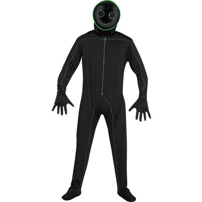 Funworld E.L. Light Up Stick Figure Adult Costume   One Size Fits Most