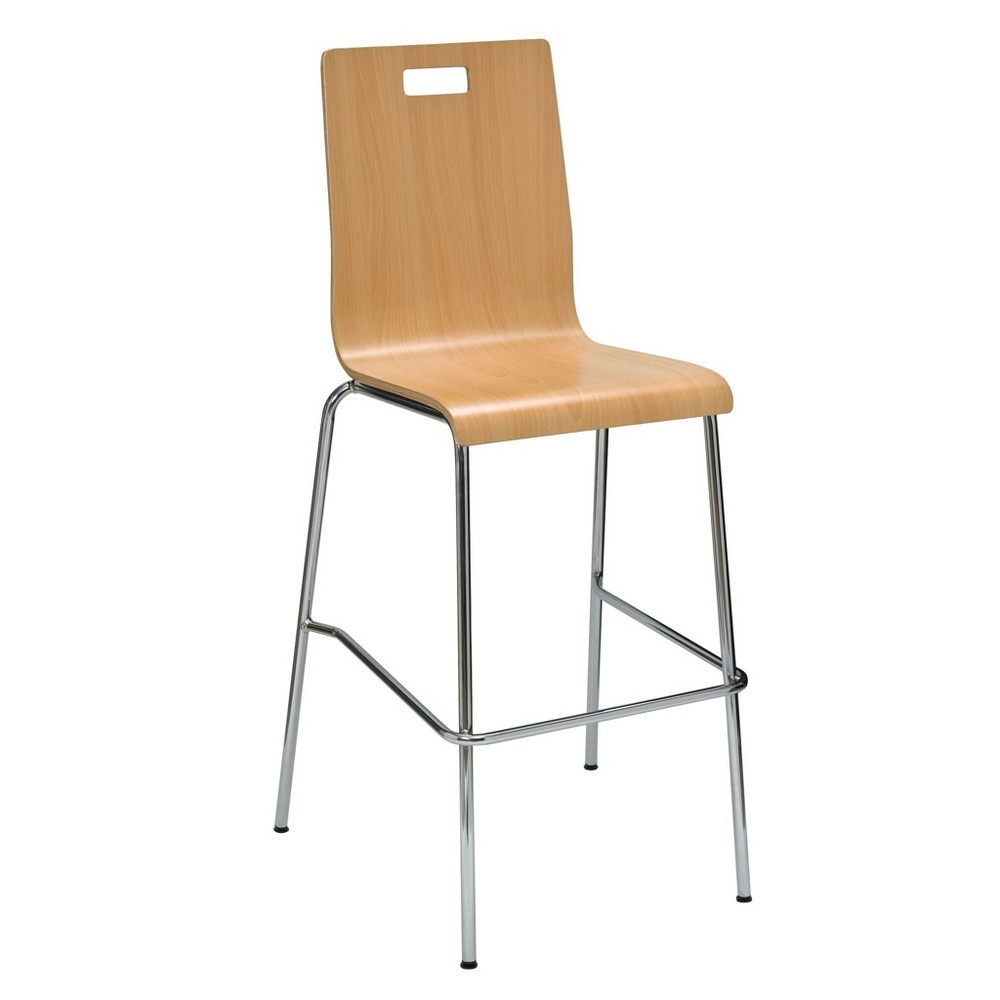 Image of Jive Laminate Barstool Natural - KFI Seating