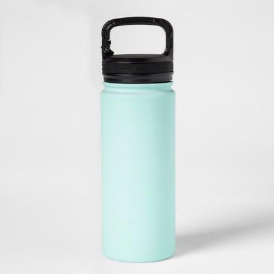 18oz Stainless Steel Vacuum Water Bottle Aqua Float - Room Essentials™