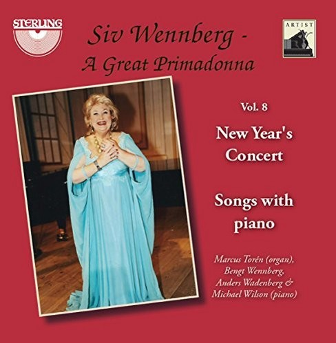 Siv Wennberg - New Year's Concert:Songs With Piano (CD) - image 1 of 1